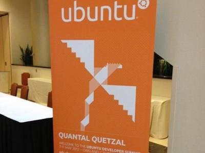Официальный логотип Ubuntu 12.10 Quantal Quetzal
