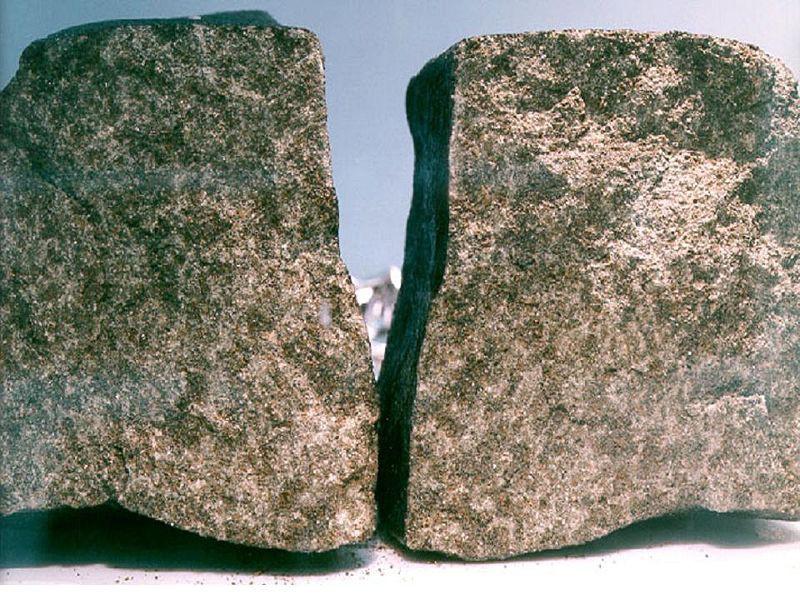 Углеродные метеориты с Марса