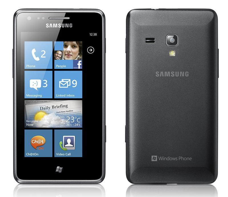 Samsung Omnia M на Windows Phone 7.5