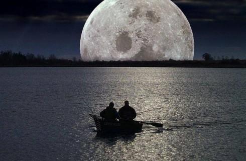 Самая яркая луна