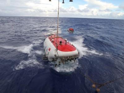 «Тзяолун» — глубоководный аппарат Китая, способный погружаться на глубину до семи тысяч метров