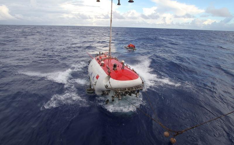 Китайский глубоководный рекорд