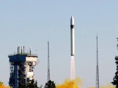 Запуск ракеты-носителя Рокот