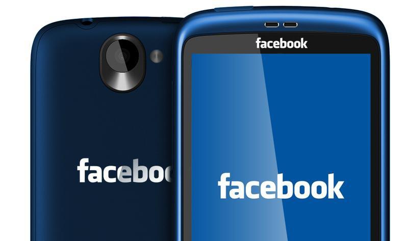 Facebook выпускает свою модель смартфона