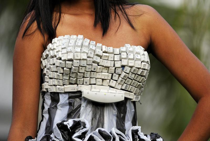 Модный показ как акция против загрязнения