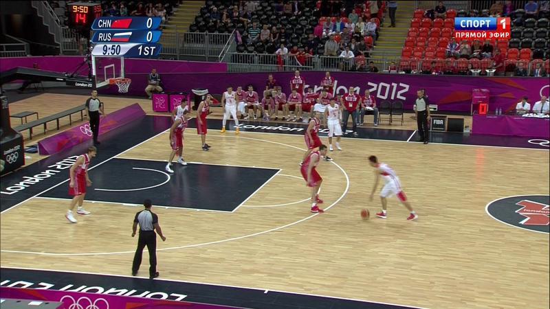 Сборная России по баскетболу обыграла сборную Китая