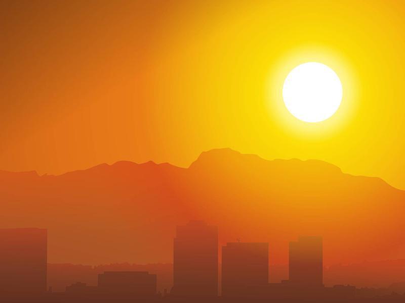Как пережить жару в большом городе