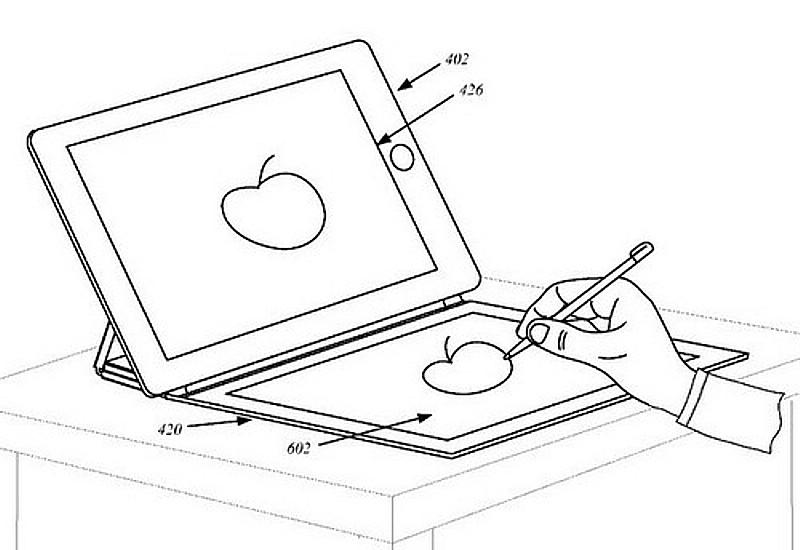 Apple получит патент на обложку для iPad