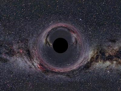 Космическая черная дыра