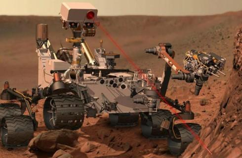 Марсоход Curiosity преодолел трудности