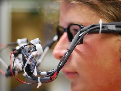 Прототип устройства для управления глазами