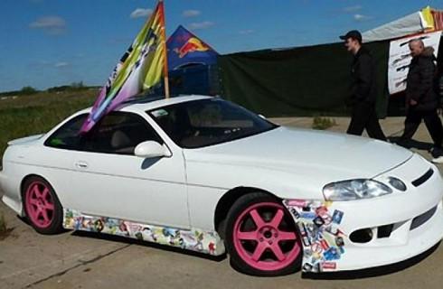 В Омске появился удивительный автомобиль