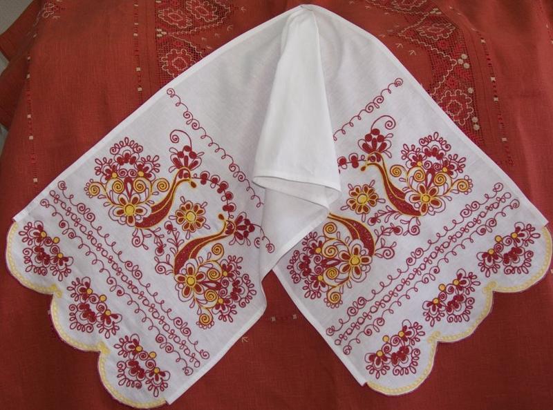 Рушник для великана вышьют в Украине