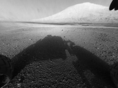 Снимок, сделанный на Марсе Curiosity