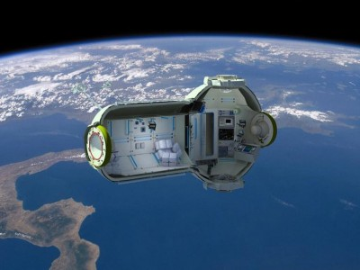 Космическая гостиница для космических туристов