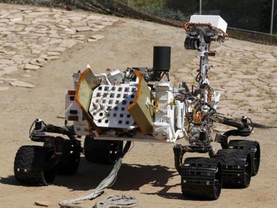 Марсоход Curiosity предполетная подготовка