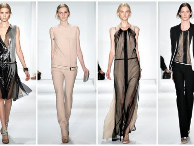 Неделя высокой моды в Нью-Йорке