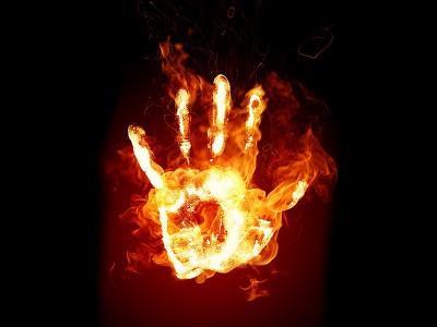 Первый огонь руками человека был разведен миллион лет назад