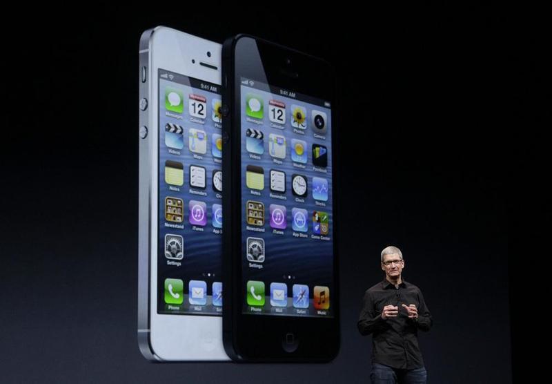 Официальная презентация iPhone 5