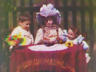 Кадр из самого первого в мире цветного фильма
