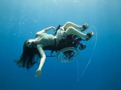Кресло для подводного плавания