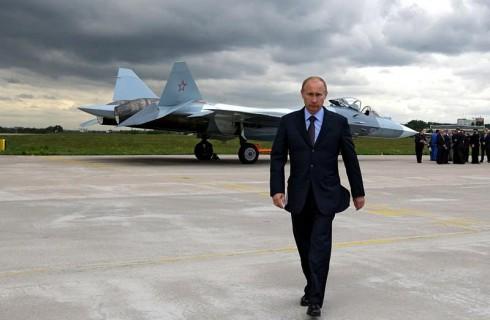 Владимир Путин — вожак журавлей