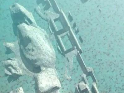 Руины неизвестного города в районе Бермудского треугольника