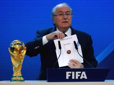 Глава FIFA — Йозеф З. Блаттер