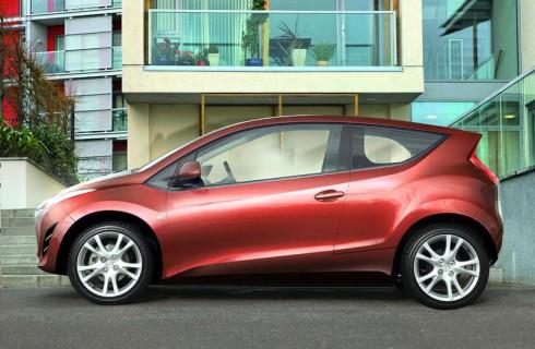 На рынок выйдет Mazda 1