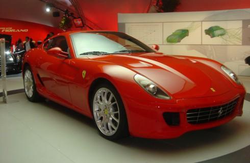 Ferrari Роналду выставили на аукцион