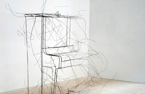 Скульптуры из проволоки от Фрица Панзера