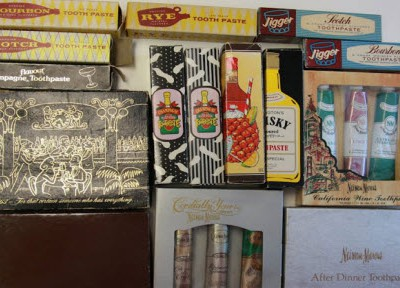 Необычная коллекция зубных паст