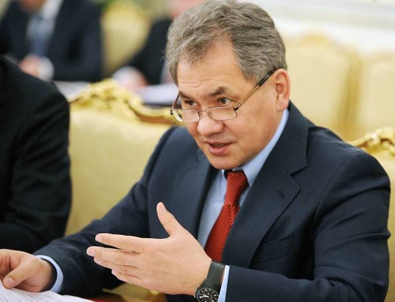 Сергей Шойгу – глава министерства обороны