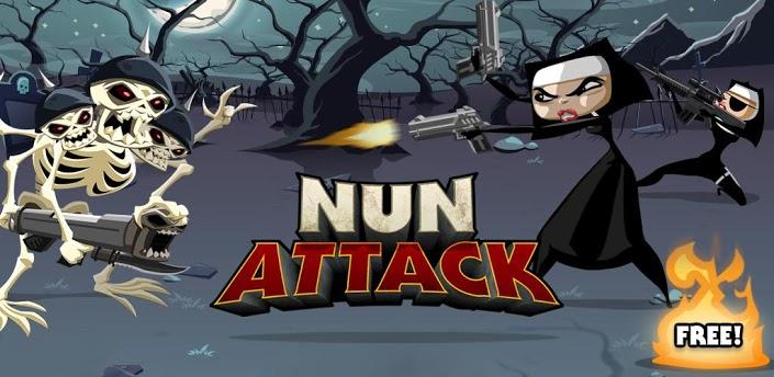 Nun Attack появилась в Google Play