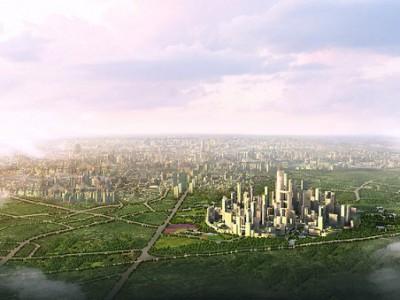 Будущий экологический город Китая