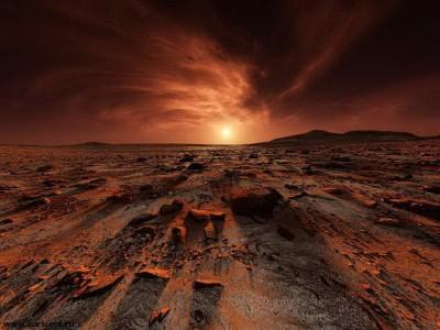 Бескрайние просторы Марса