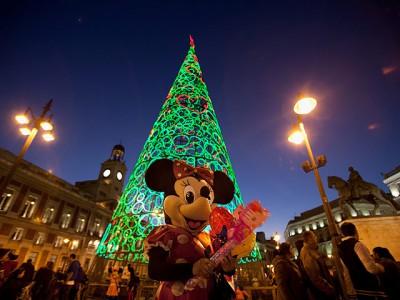 Новогодняя ель Мадрид