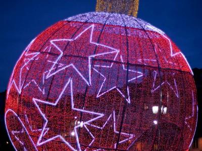 Новогодняя ель Лиссабон