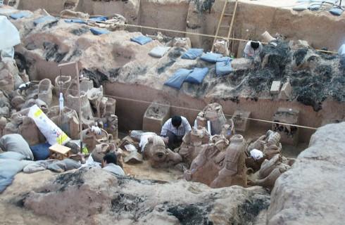Новое археологическое открытие в Китае