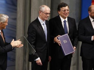 Европейский Союз получил премию «Мира»