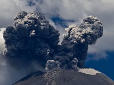 Вулкан Попокатепель