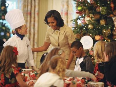 Мишель Обама отдает все свое время детям