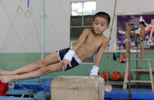 Подготовка будущих олимпийцев в Китае