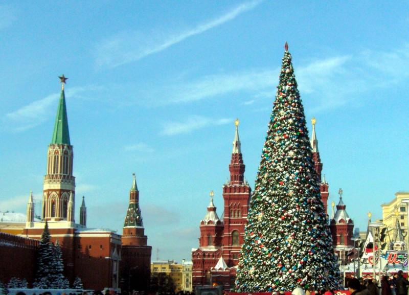 В России дан старт новогодним торжествам