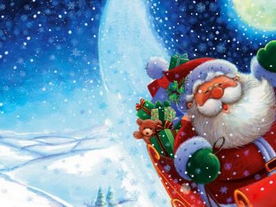 Санта-Клаус вернулся домой