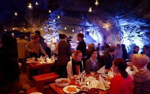 Подземный ресторан