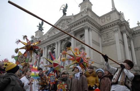 Рождественский фестиваль «Велика Коляда» во Львове