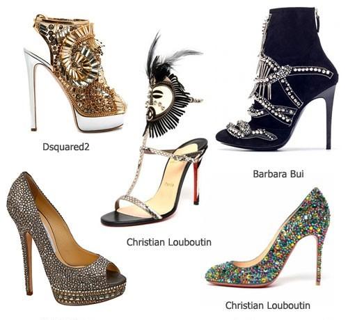 Модная обувь весна-лето 2013