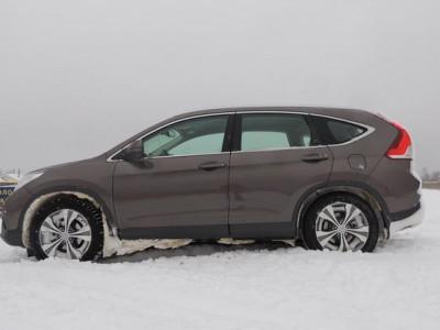 Honda CR-V испытали на прочность