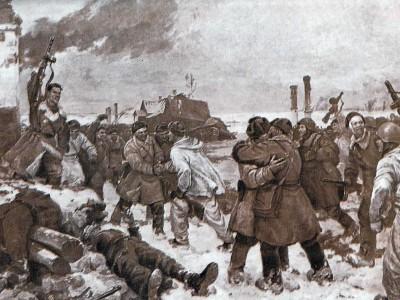 Ленинград отмечает 70-летие со дня прорыва блокады